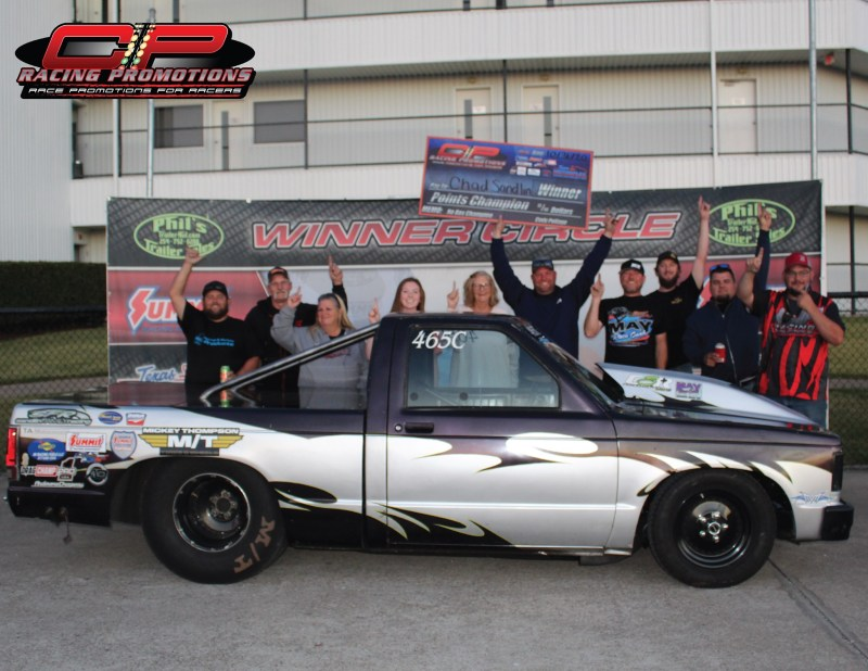 chad sandlin cp racing promotions 2020 no box points champion