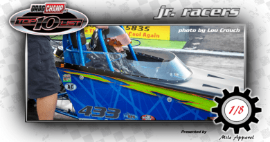 DragChamp 2020 Jr Racer 16-17 Top 10 List with Dylan Hite