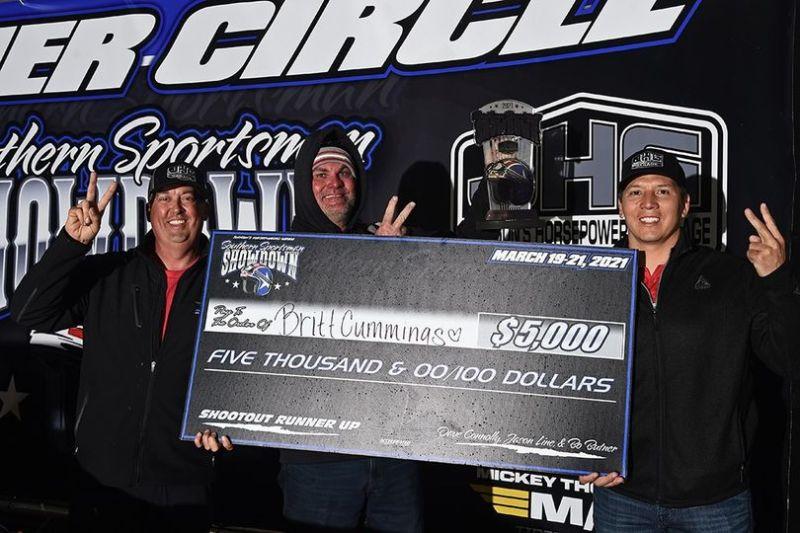 britt cummings $50k runner up