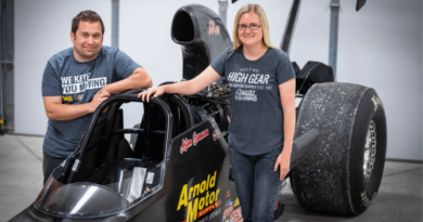 Afton & Joe car cropped feature photo swanson motorsports