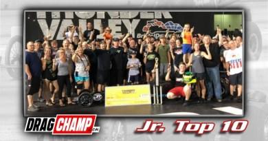 DragChamp Jr Racer Top 10 List with Gage Rachford