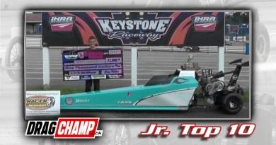 DragChamp Jr Racer Top 10 List with Ralphie Stellatto