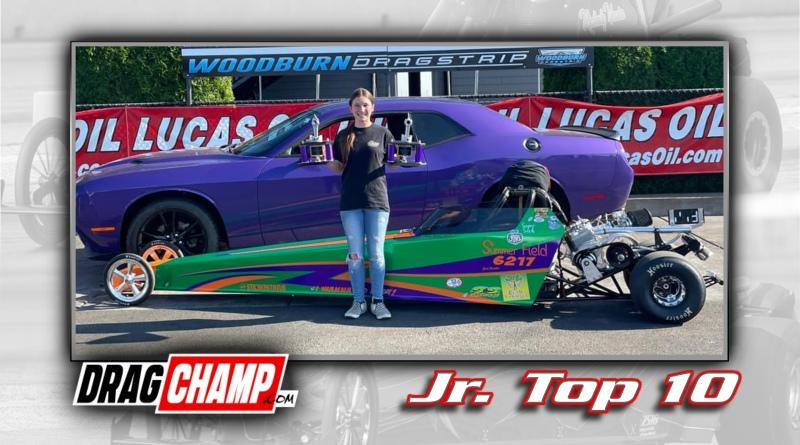 DragChamp Jr Racer Top 10 List with Summer Field