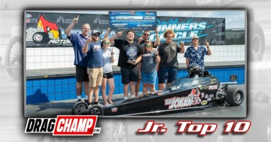 DragChamp Jr Racer Top 10 List Template with Nathan Tanner
