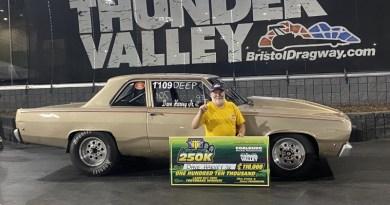 dave harvey jr bte labor day $250k winner