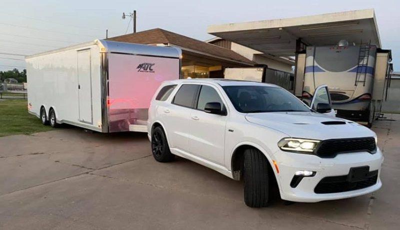 rm race trailer customer photo