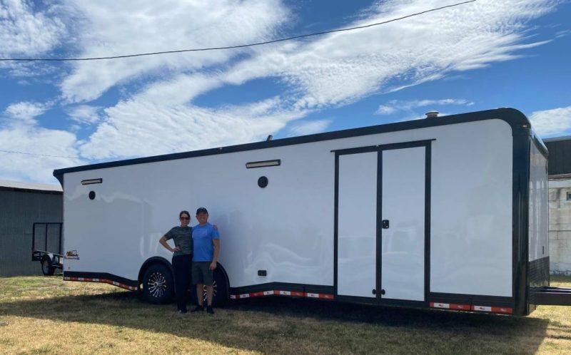 rm race trailer customers