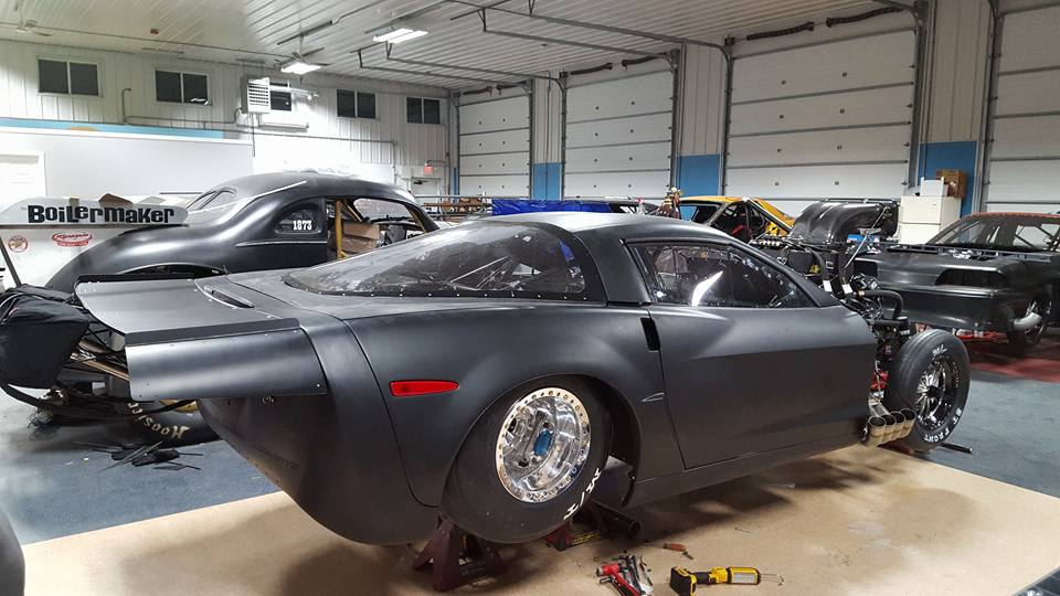 Kyle Huttel S New C6 Drag Radial Corvette By Xtreme Race Cars