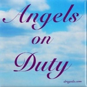 Fridge Magnet - Angels on Duty