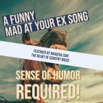 Hilarious & Sarcastic Country Song About Being Mad at Your Ex