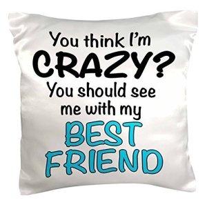 Best Friend is Crazy Pillow