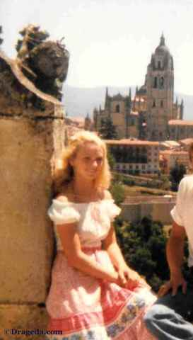 Barb in Segovia Spain