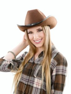 Cowboy Party Hat