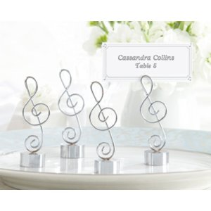 Musical Note Place Cards