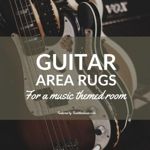 Guitar Area Rugs
