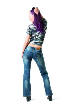 Draggin Jeans UK drift blue women's back