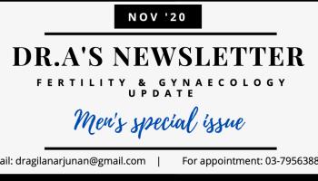 Dr.A's November Newsletter