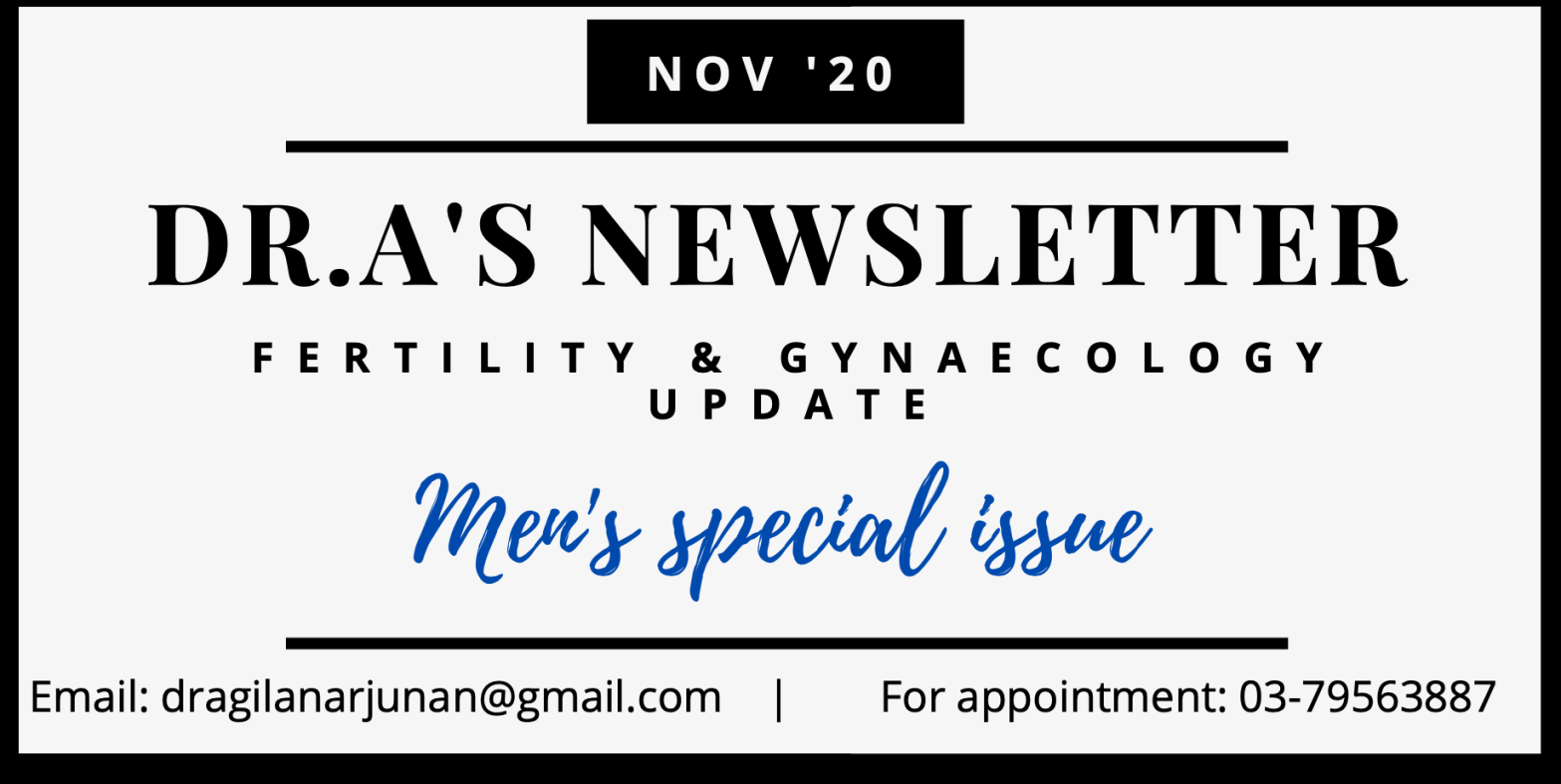 Dr.A's November Newsletter
