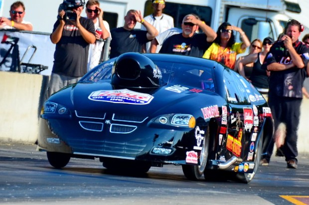 Lizzy Musi's 3.791 from the opening round of qualifying held on through three sessions to give her the first number-one start in her Pro Nitrous career. Musi beat Jim Sakuvich and Lee Adkins to advance to the semis against Tommy Franklin.