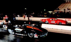 Todd Tutterow (near lane) vs. Anthony DiSomma