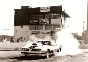 Castello's '78 Trans Am at Miami-Hollywood Speedway