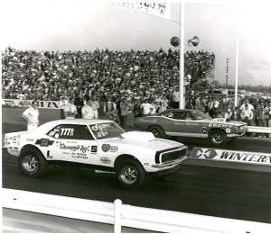 1970 NHRA WInternationals Pro Stock Final (Note wicked awesome hoods)