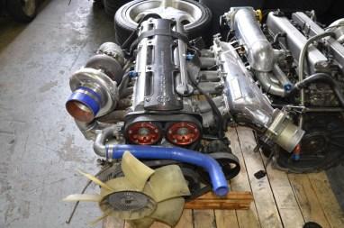 2JZGTE Non VVTI 700HP - Rear Sump - Rebuilt - Call