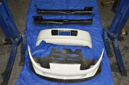 Supra Turbo Ridox Carbon Front with JDM Sides Rear