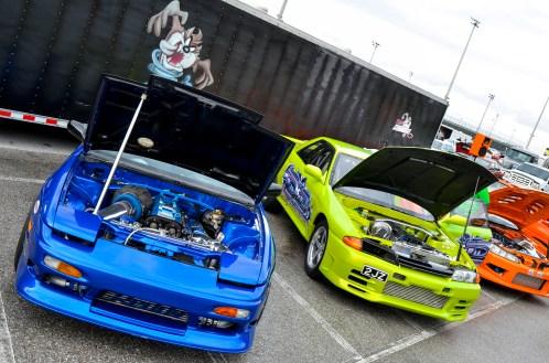 2JZ Powered Nissans - Team Orange!