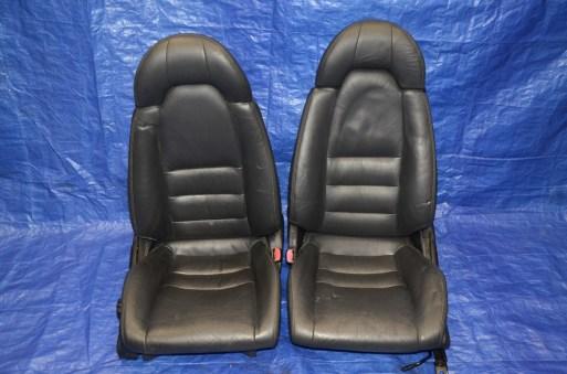 Supra Turbo Black Leather Seats