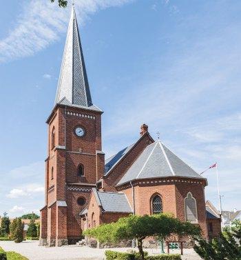 Højmesser og andre aktiviteter i kirken er aflyst – foreløbeligt indtil udgangen af marts. Arkivfoto: Thomas Mose.
