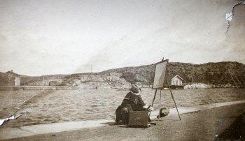 Christian Mølsted i Marstrand.