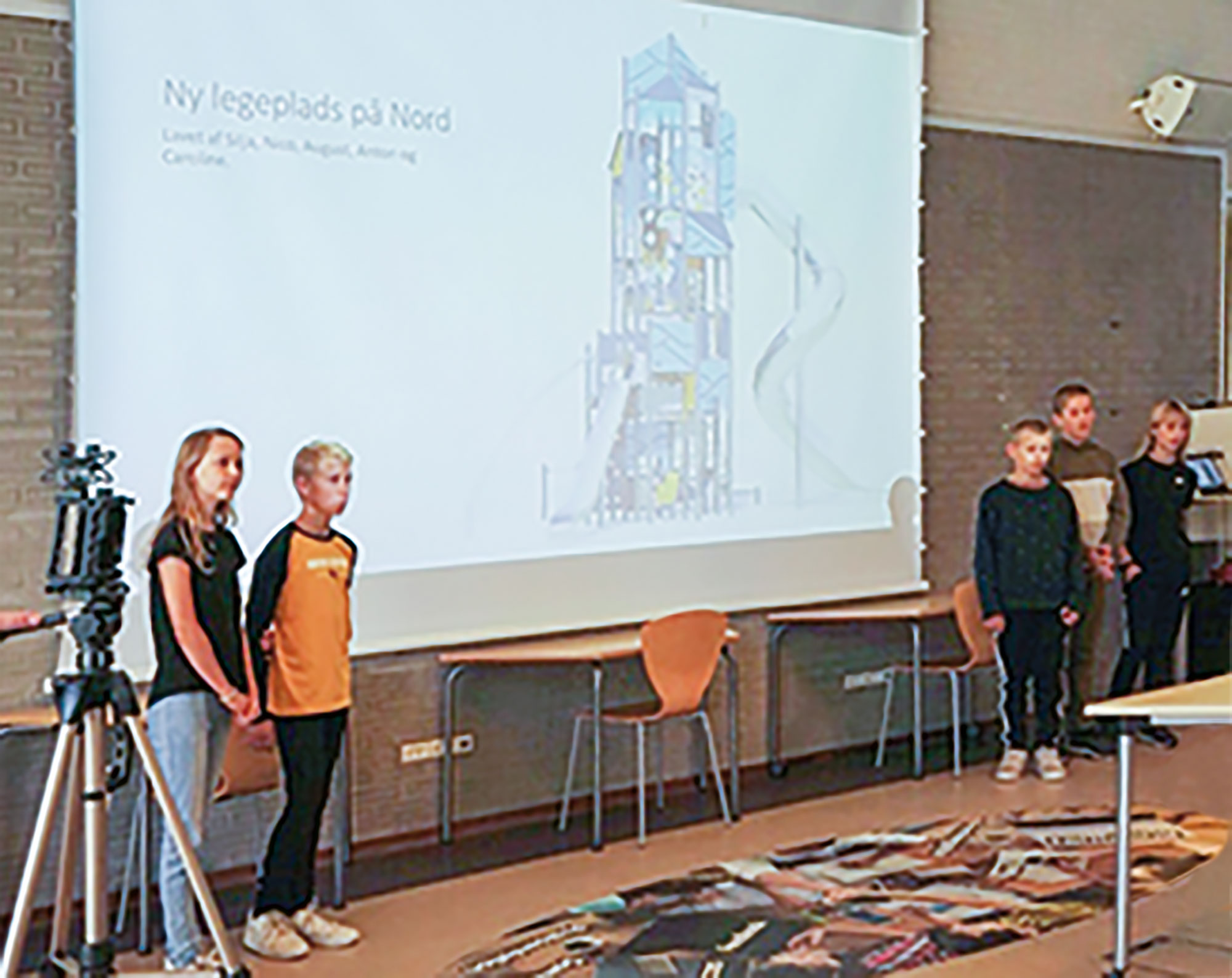 2.-pladsen gik til 6.D fra Nordstrandskolen.