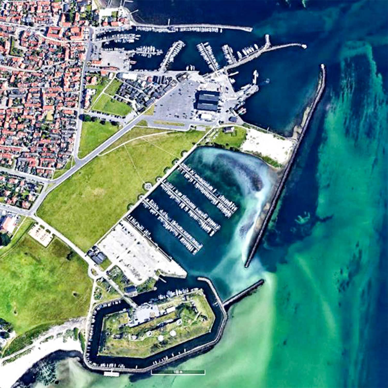 Dragør Havn som den er indrettet i dag.
