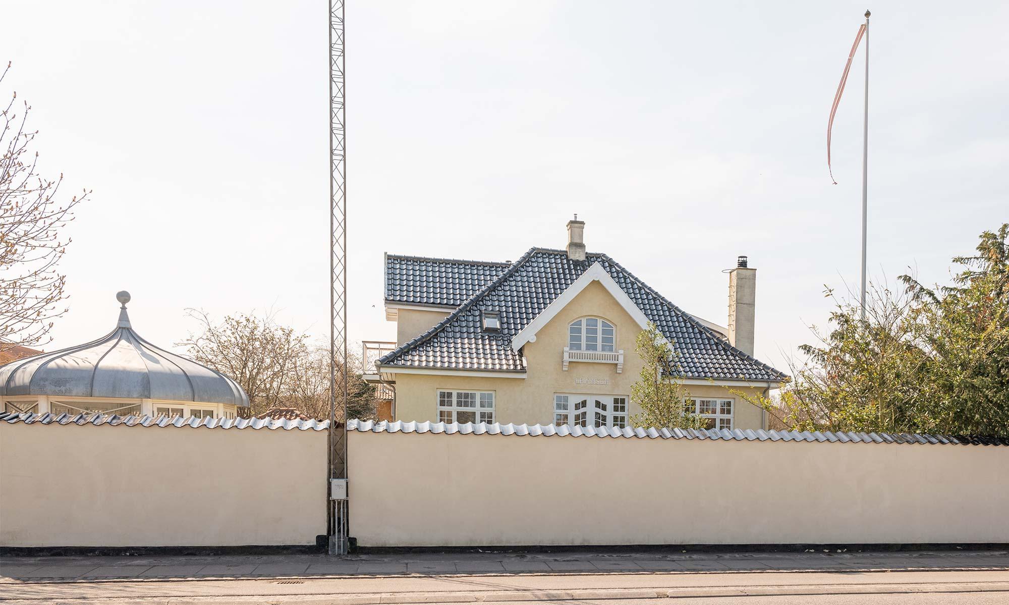 Villa Grænsen i 2021. Foto: TorbenStender.