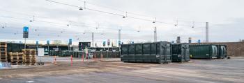 Dragør Genbrugsplads, der hører under ARC, undergår i 2021 en større ombygning. Og den 24. juni finder en skelsættende begivenhed sted – her siger man nemlig farvel til fraktionen »Småt brændbart«. Arkivfoto: TorbenStender.