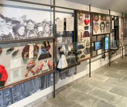 Den nye jubilæumsudstilling på Amagermuseet.