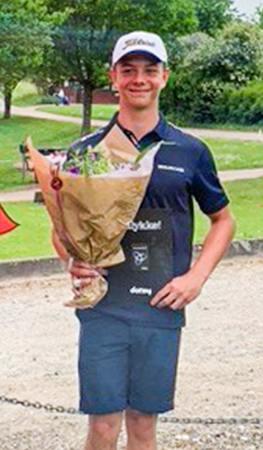 Bertil Lykkeberg repræsenterer Danmark ved europamesterskaberne i golf, der afvikles på Furesøen Golfbane i denne uge.