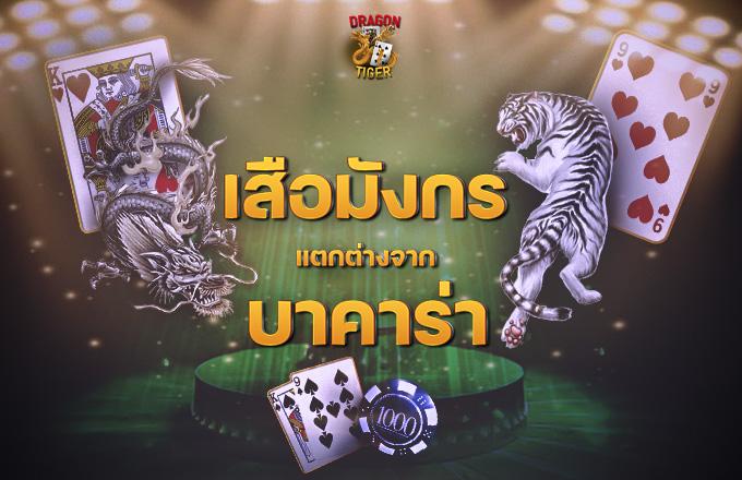 เสือมังกร VS บาคาร่า เกมไพ่ UFABET