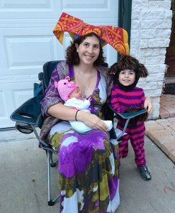 The Duchess, her baby (who turns into a pig), and the Cheshire Cat