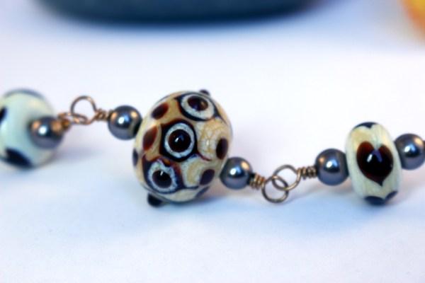 Focal bead detail