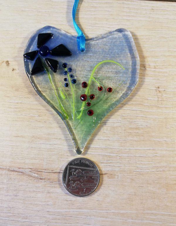 Floral heart number 2