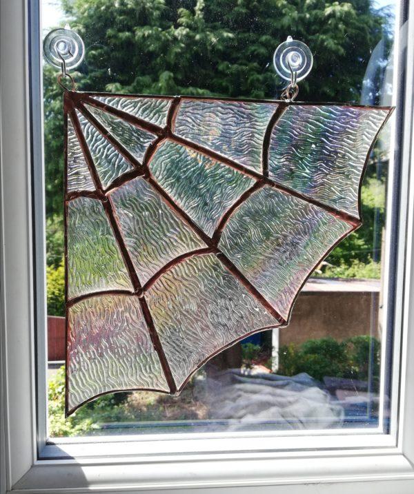Window view cobweb
