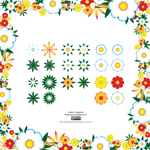 _vector-spring-flowers-preview-by-dragonart