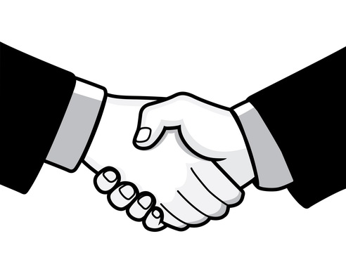 Vector - Handshake Prev2 by DragonArt