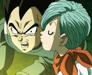 ブルマとベジータのキス29