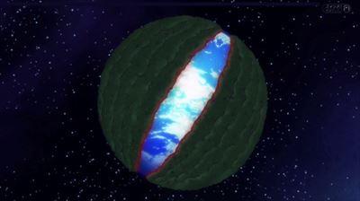 地球を覆う
