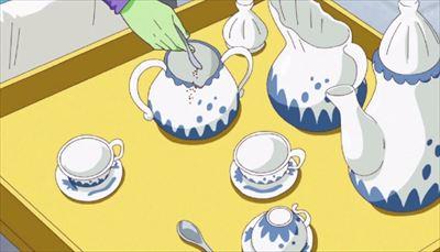 ザマスお茶