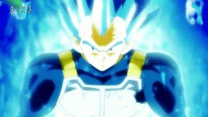 スーパーサイヤ人ブルー2(?)のベジータ