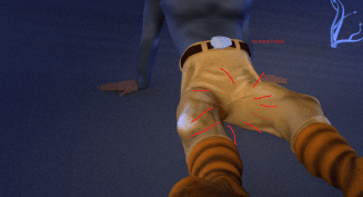 Crotch weight painting fixes
